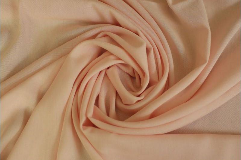 Купить ткань Штапель (персик) оптом и в розницу