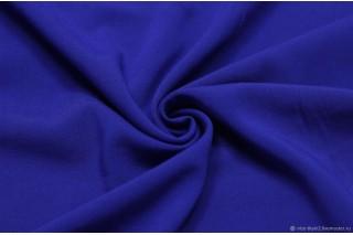 Купить ткань Штапель (электро-синий) оптом и в розницу