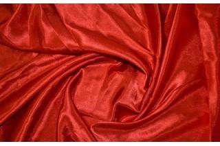 Купить ткань Креп сатин (красный) оптом