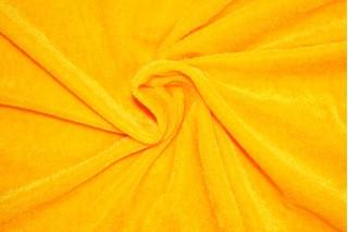Купить ткань Велюр (лимонный) оптом и в розницу