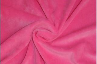Купить ткань Велюр (розовый) оптом