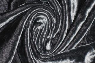 Купить ткань Велюр (серый) оптом