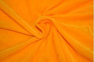Купить ткань Велюр (желтый) оптом